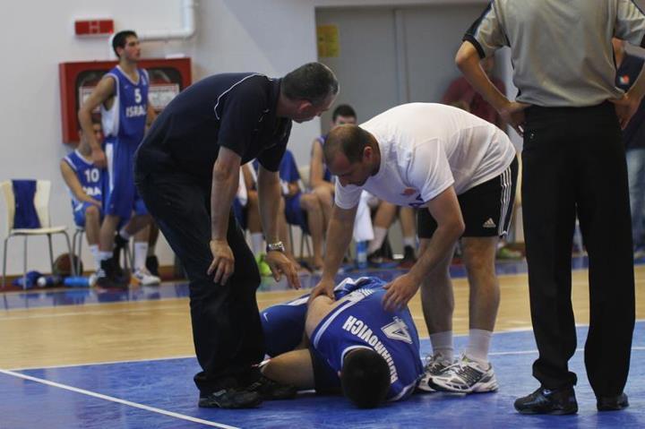 פציעות ספורט - כדורסל