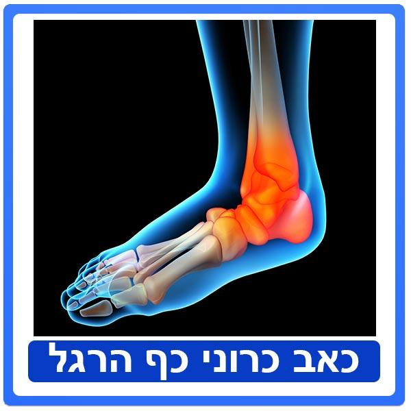 טיפול פיזיותרפיה בכאבים כרוניים בכף הרגל בקרב רצים