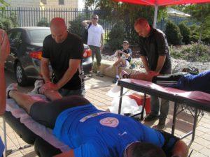טיפולי פיזיותרפיה בתחרויות